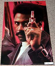 SHAFT Richard Rountree Colt Detective Gun Poster 1972 MGM Film Blaxploitation