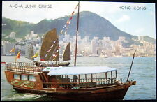 CHINA ~ 1960's HONG KONG ~ A - O - A  JUNK CRUISE