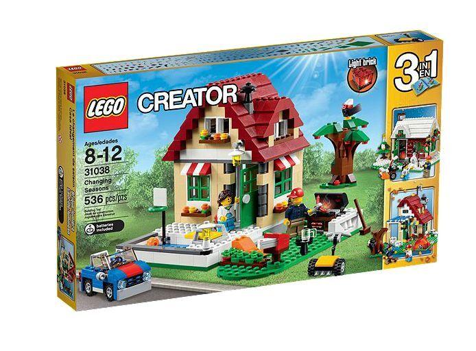 LEGO ® Creator 31038 changeHommests des saisons NEUF neuf  dans sa boîte nouveau En parfait état, dans sa boîte scellée Changing Seasons  bienvenue à l'ordre