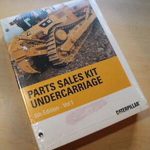 2007 CAT Caterpillar Undercarriage Parts Sales Kit Manual Catalog crawler shop