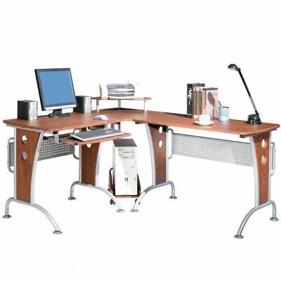 Tavolo scrivania porta pc computer angolare colore for Tavolo scrivania
