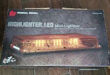 Federal Signal 454100hl 12vdc Highlighter Led Mini Lightbar Series A