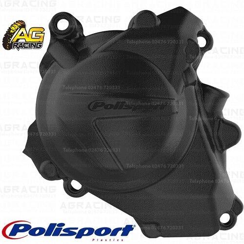 Polisport Ignition Cover Protector Black For Honda CRF 450R 2019 Motocross