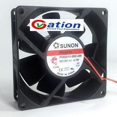 For Jianning SUNON MGB0121V1-C000-S99 DC12V 6.08W Fan