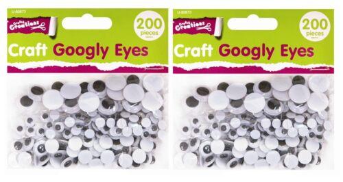 70 Craft Juego Ojos 3mmWiggly Wobbly OjosWiggly Wobbly Ojos