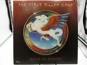 The Steve Miller Band Book Of Dreams LP 1977 Capitol Records  SO-11630 VG+ c VG