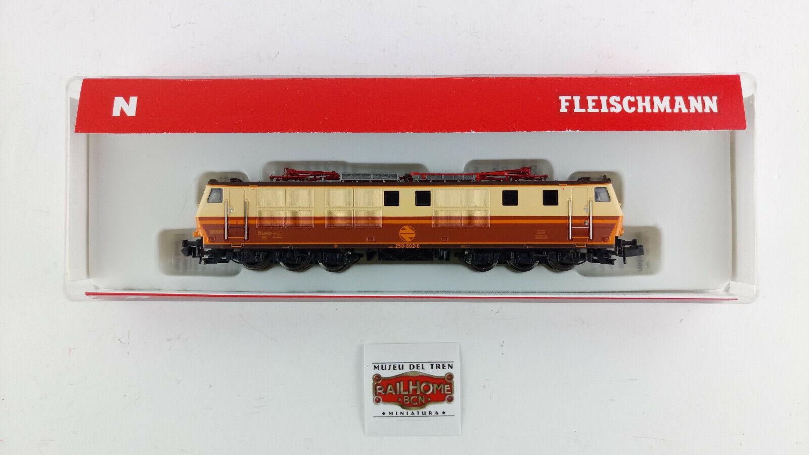 Fleischmann N 735281 - Electric Locomotive 250-602-0   Star   - DCC - Ovp