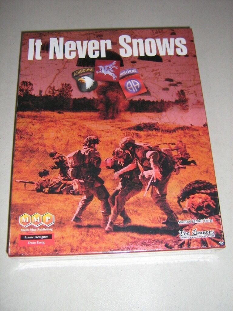 It Never Snows  Arnhem 1944 (New)