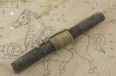 Halskette Takrut Lp Tob Amulett Thai Talisman Wat Chondan Takrud Magic 1560