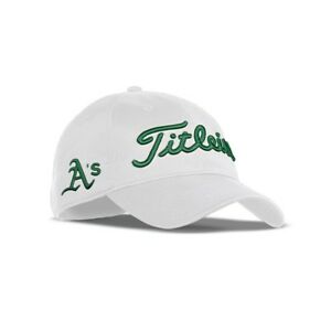cab3e16b9db Image is loading New-Titleist-Golf-MLB-Performance-Hat-Adjustable-Oakland-