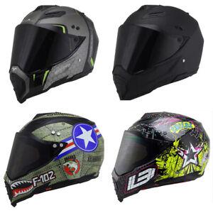 DOT-Offroad-Helmet-Motorcycle-Helmet-Full-Face-Motocross-ATV-Dirt-Bike-M-L-XL