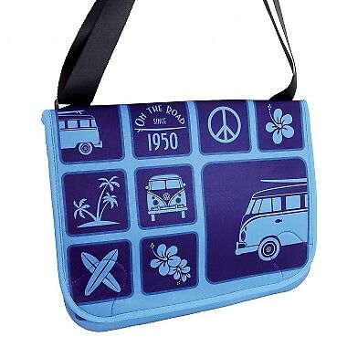 Official VW T1 Messenger Bag -bluee New With Tags
