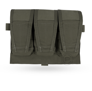 Crye Precision AVS Detachable Flap 7.62 Mag Pouch - Ranger Green - Holds 3 Mags