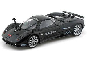 Pagani-Zonda-F-Nurburgring-1-24-Escala-Modelo-de-Auto-Diecast-Metal-Die-Cast-Negro