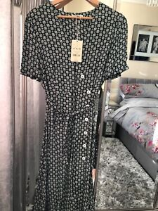 Monsoon Ladies Dress Size 14 Bnwt Ture 100% Guarantee
