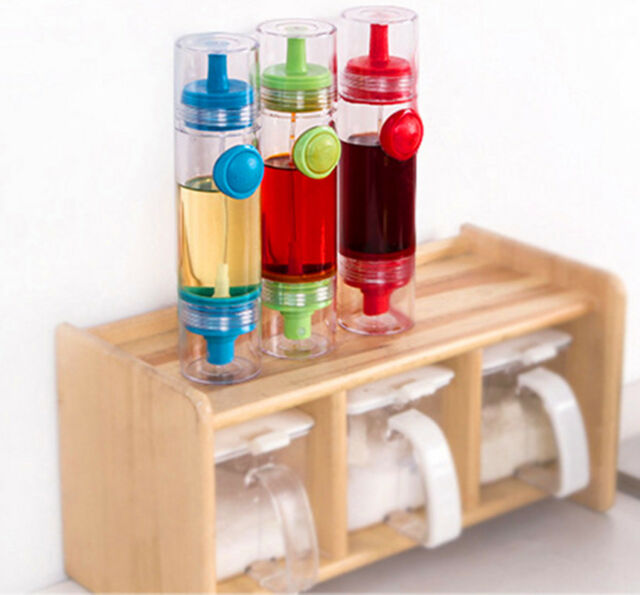 1Pcs Oil Bottle Random Color Cooking Pastry Sprayer Dispenser Kitchen lecksicher