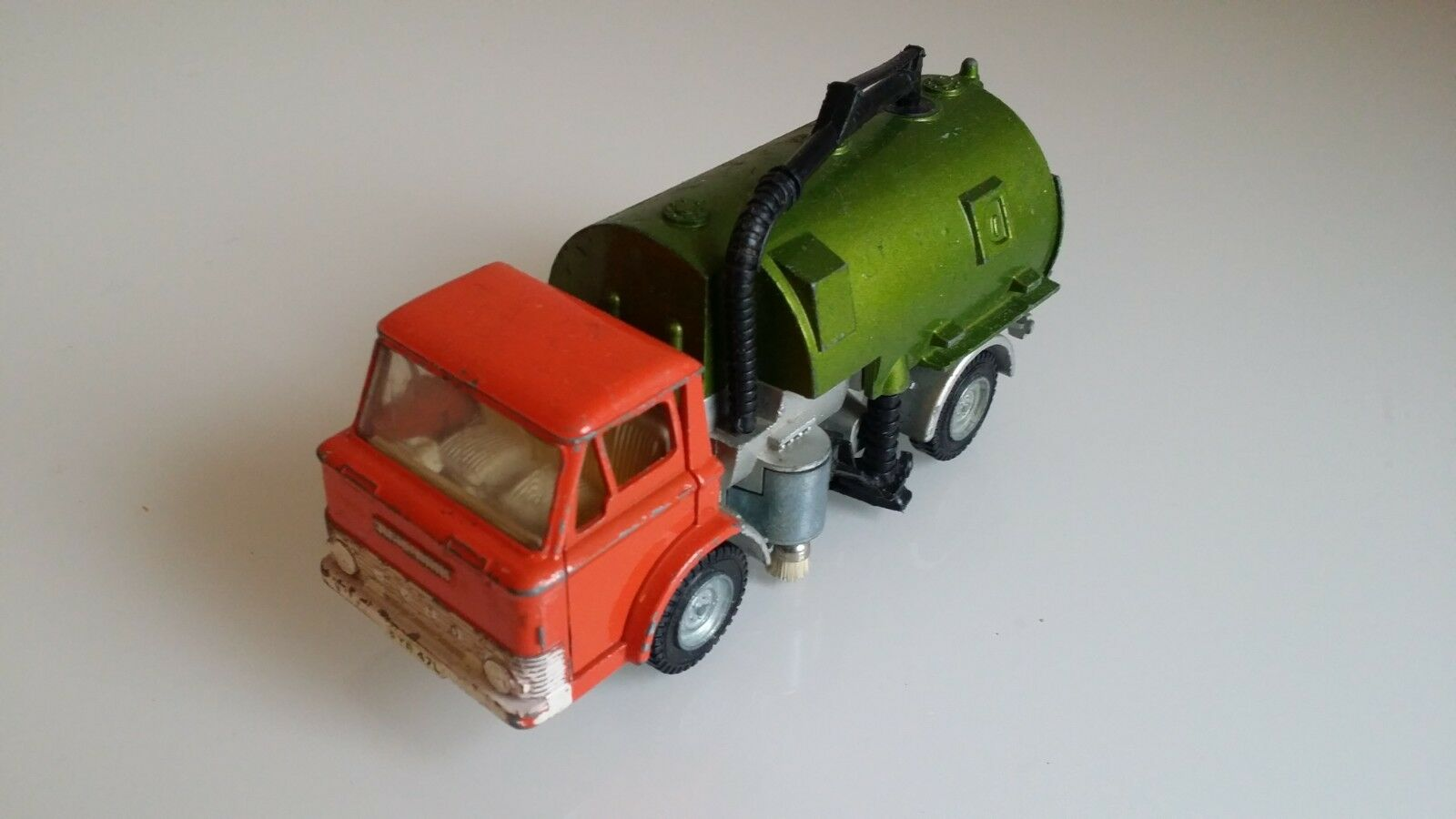 DINKY FORD D800 Johnston Road Sweeper camion 451 1971