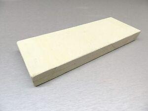CERAMIC HEAT PLATE SOLDERING BOARD -MELTING 3-1/2x10x1 THICK HIGH TEMPERATURE