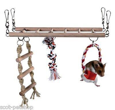 NEW Suspension Bridge Cage Accessory Hamster Gerbils