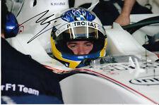Nick Heidfeld Hand Signed BMW Sauber Photo 9x6.