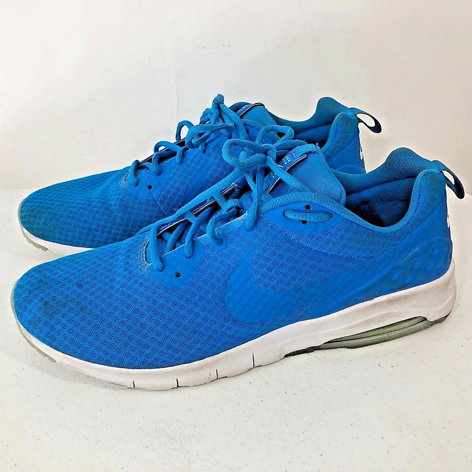 Nike Air Max Motion Running Men Blue and White Shoes Comfortable The most popular shoes for men and women