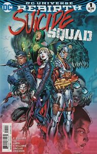 SUICIDE-SQUAD-1-Rebirth-COMIC-BOOK-NM-DC-Comics-Harley-Quinn