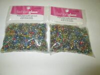 Large Rocaille Glass Beads 180 Grams Assorted Color Mix By Fashion Glass