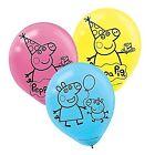 Amscan Bb111499 Peppa Pig Latex Balloons