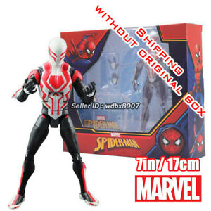 Spider-Man into the Verse Marvel Comic Heroes 7in Action Figure Kid Toy In Stock