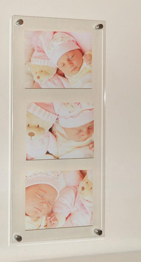 10 X 8  Photo Cadre Photo Multi 8 X 10  Cheshire acrylique toutes les couleurs