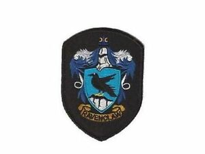 Harry potter ecusson serdaigle blason ecole harry potter ravenclaw school patch ebay - Harry potter blason ...