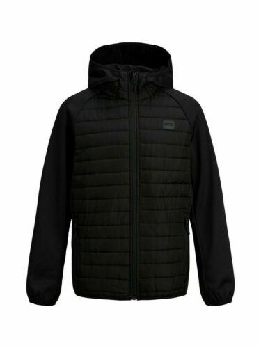 Jack /& Jones Boys Kids Children Puffer Quilted Jackets Hooded  Lightweight Coats