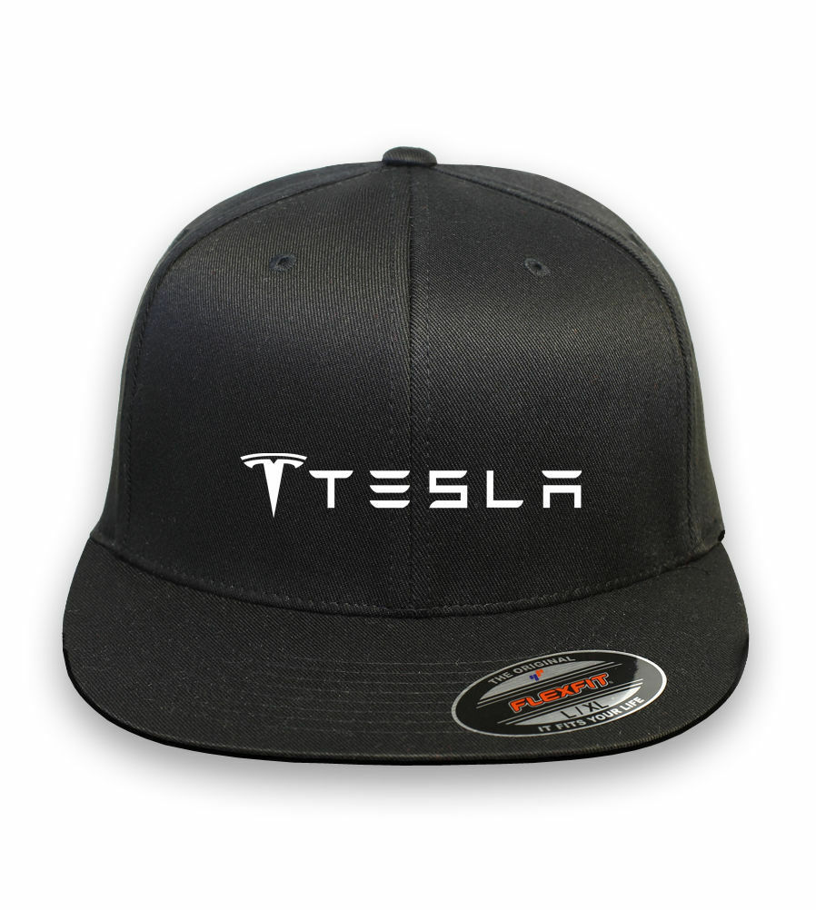 TESLA MOTOR Model 3 Model S Car Flex Fit Hat Cap Baseball Free Shipping 3ced243655e