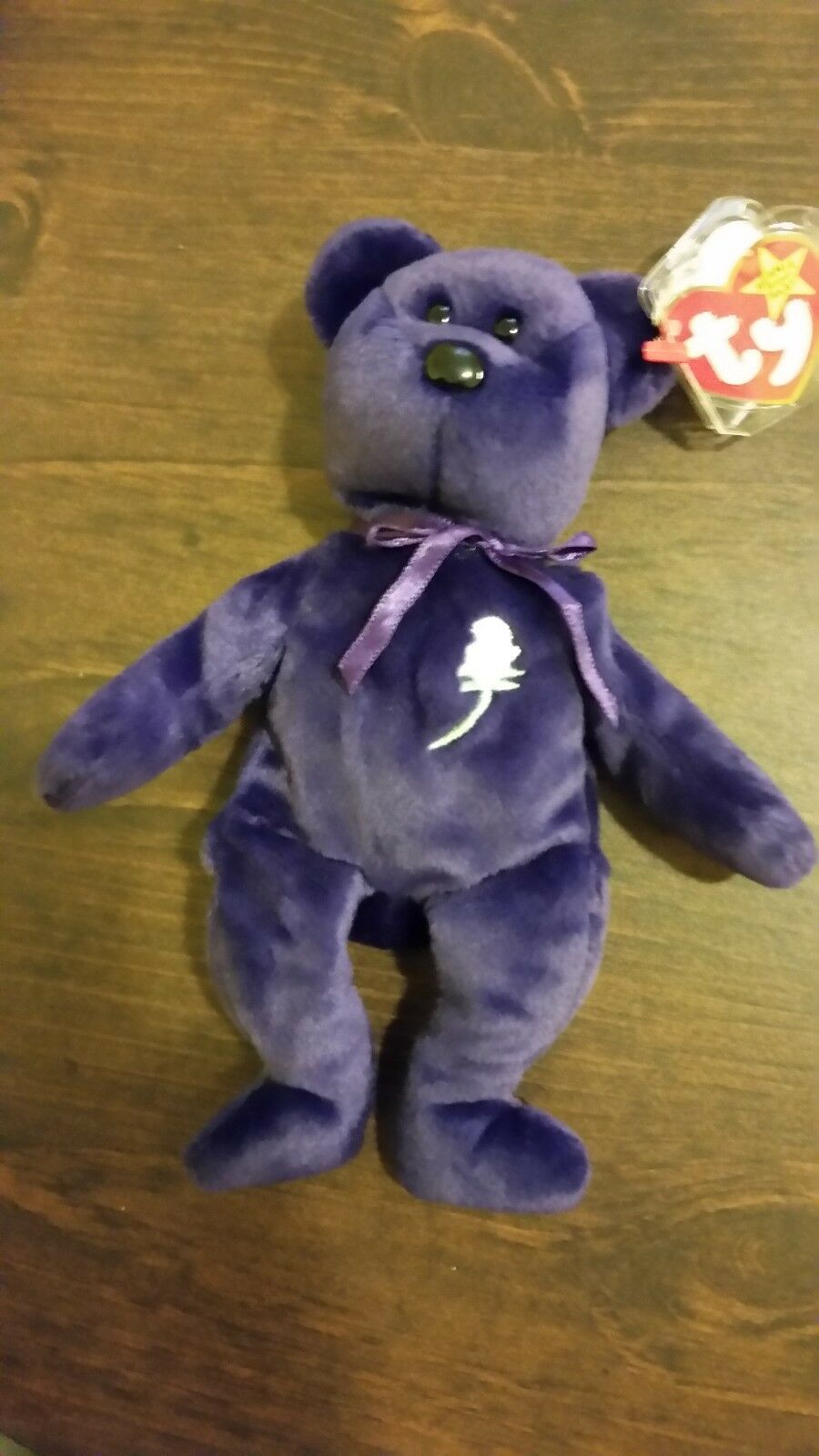 Ty Beannie Baby 1997 Princess Diana plush, mint condition, retired, with error