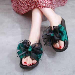 6861522455c9 Women s Beach Flower Slipers Platform Wedge Heels Sandals Bohemia ...