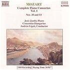 Wolfgang Amadeus Mozart - Mozart: Piano Concertos Nos. 20 & 13 (1992)