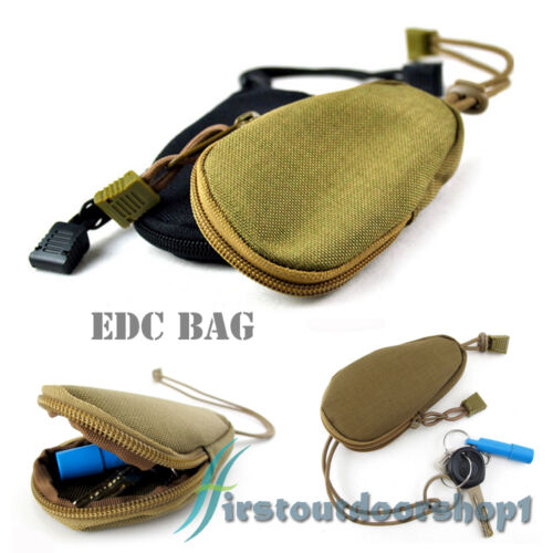 Mini Canvas EDC Toolkit Tactical Vice Accessories Commuting Hanging Bag