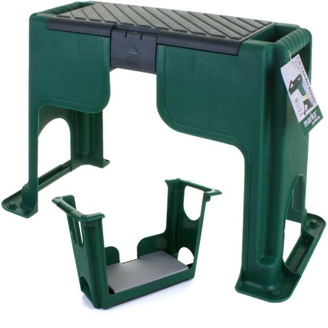 Portable Garden Kneeler Foam Chair Seat Gardening Knee Pad Padded Stool  Toolbox