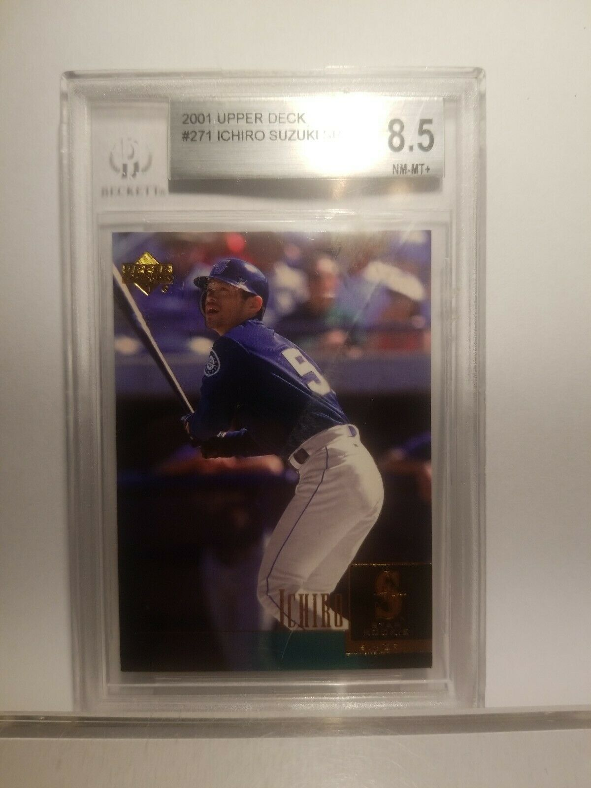 2001 Upper Deck #271 Ichiro Suzuki Seattle Mariners RC Rookie Baseball Card