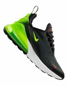 Details about NIKE AIR MAX 270 RF GS ANTHRACITE VOLT BLACK RUNNING ( AV5141 001 ) SIZE 6Y