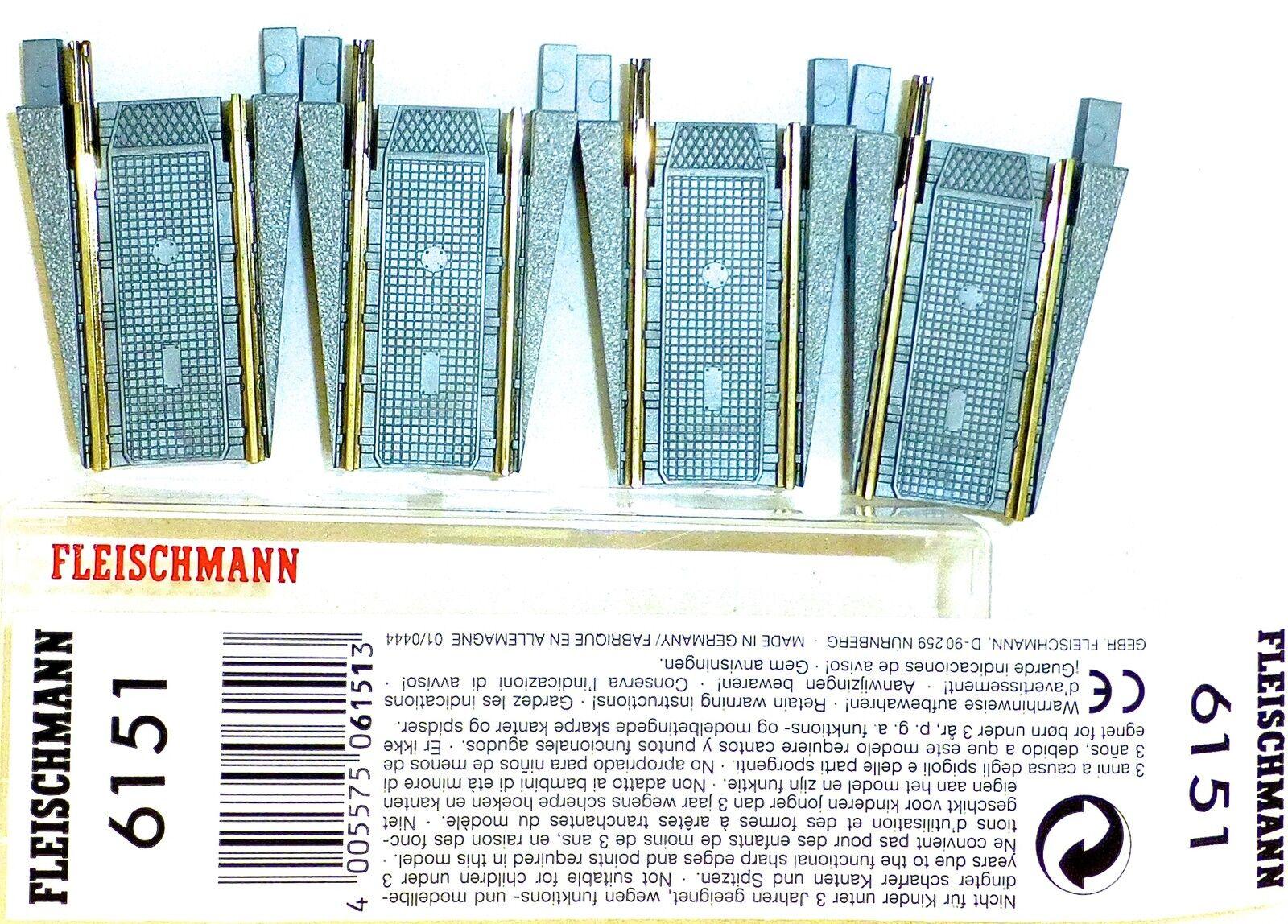 Due Pezzo fleischuomon 6151 Set Completo per 6150 Nuovo Conf. Orig. 1 87 H0  LD5