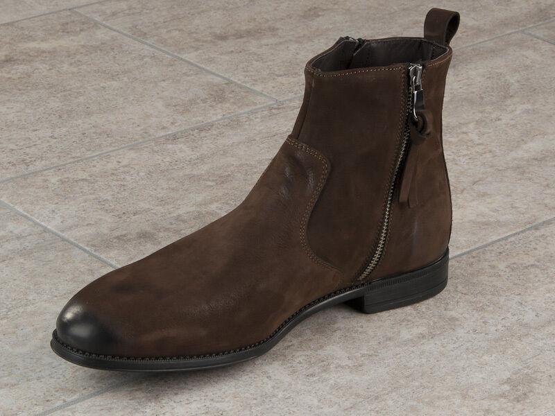 Eveet Daim Italien Chaussures Nouvelle Collection Marron