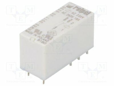 1 st Relais 24VDC; 8A//250VAC; Mini elektromagnetisch; SPDT; USpule