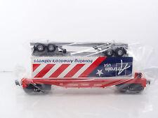 Lionel Artrain USA's America's Railways Trailer w SP Flat Car 6-52331 NEW RARE