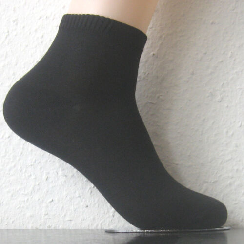 3 Paar Damen Bambus Sneaker Kurzstrumpf Socken Harmony 3 Farben alle Größen