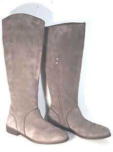 03fbedaa59b Details about BRAND NEW $250 UGG AUSTRALIA GRACEN GRAY TALL SUEDE  EQUESTRIAN WOMEN'S BOOTS