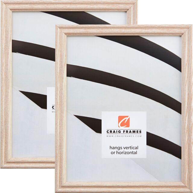 "10/"" Custom Sizes 1/"" Contemporary Black Picture Frames Craig Frames 1WB3BK"