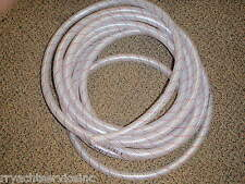 """HOSE CLEAR PVC TUBING RED TRACER 1/2"""" 88 1620126 25FT MARINE BOAT WATER EBAY"""