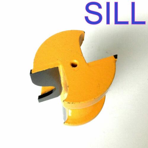 """1 pc 1//2/"""" SH Window Sill Stool Molding /& Door Pull Edge Router Bit S"""