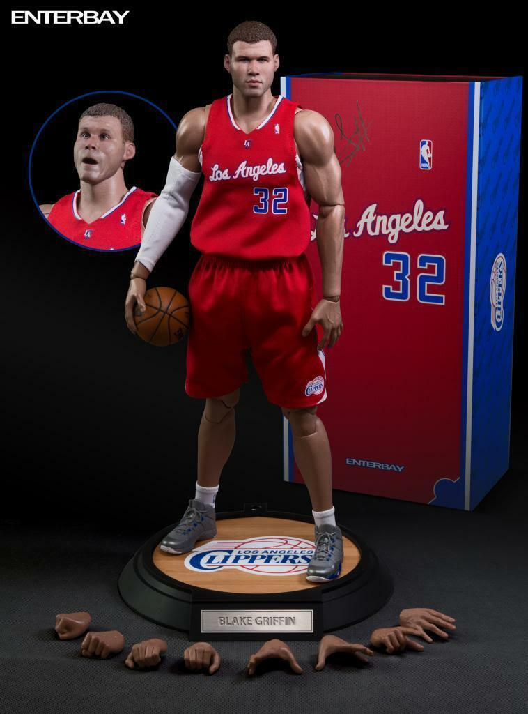 ENTERBAY 1 6 NBA COLLECTION REAL MASTERPIECE BLAKE GRIFFIN CLIPPERS RM1045 NUOVO